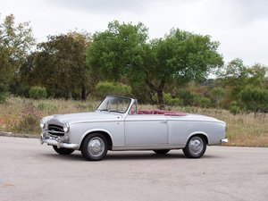 1958 Peugeot 403 Cabriolet  For Sale by Auction