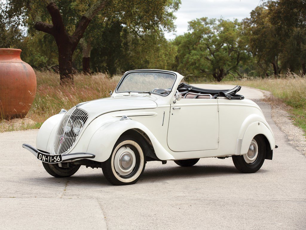 1947 Peugeot 202 BH Cabriolet  For Sale by Auction (picture 1 of 5)
