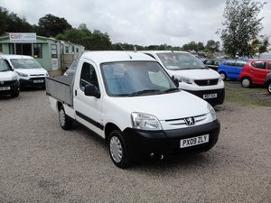 2009 PEUGEOT PARTNER 1.6 HDI DROP-SIDE PICK-UP