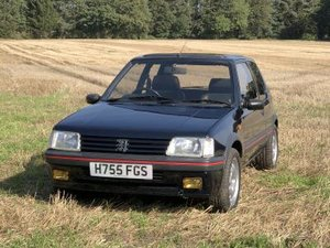 1991 Peugeot 205 GTi 1.9 For Sale by Auction