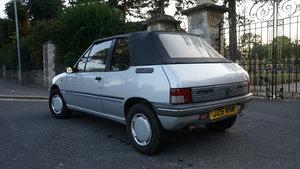 1991 Peugeot 205 CJ - Convertible - 11 Months MOT