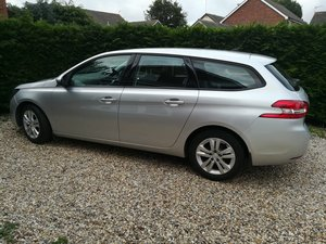2015 PEUGEOT 308 ACTIVE SW HDi BLUE S/S - 1 OWNER - FREE TAX