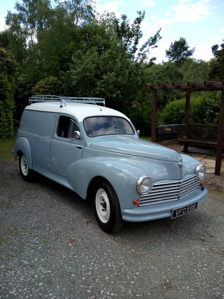 1955 Peugeot 203 Van Just Restored! For Sale (picture 1 of 6)