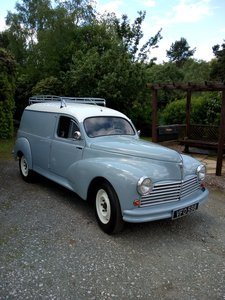 Peugeot 203 Van Just Restored!