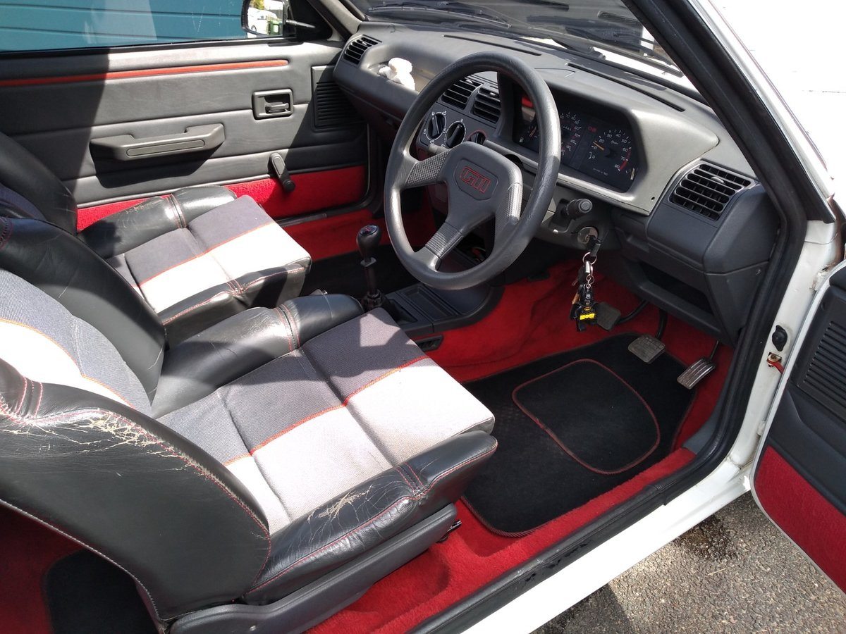 1988 Peugeot 205 GTI 1.6 For Sale (picture 5 of 6)