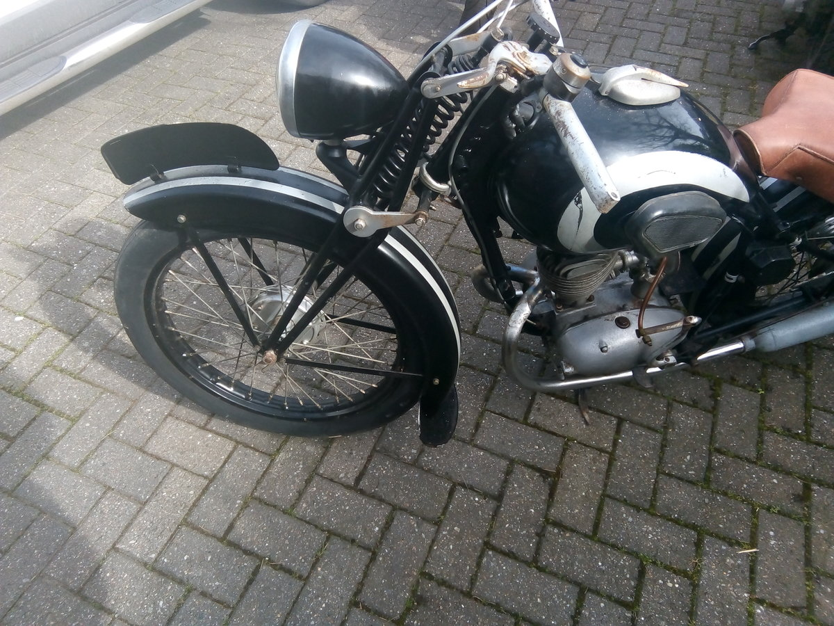 1955 Barn find Peugeot griffon 1949, 125cc, type 555 For Sale (picture 6 of 6)
