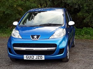 SUPER LITTLE 2012 PEUGEOT 107 SPORTIUM 5DR / A/C £2,595 For Sale