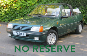 1990 Peugeot 205 Roland Garros Convertible For Sale