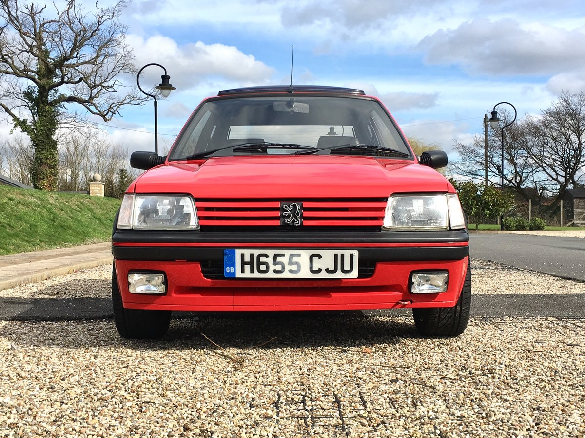 1990 Peugeot 205 GTi 1.9 Mi16 For Sale (picture 4 of 6)