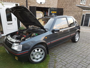 1989 Peugeot 205 GTI 1.9 Graphite Grey - don't miss.