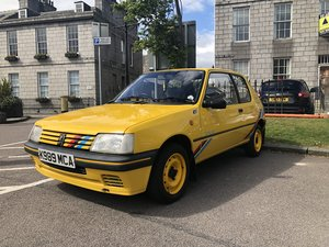 1993 205 Rallye Fantastic Condition Yellow For Sale