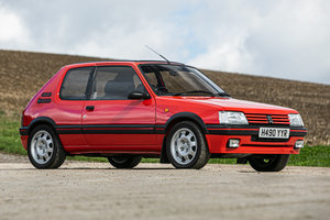 1991 Peugeot 205 GTi 1.9 Just 35,300 miles from new