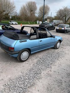 1992 205 Cabriolet Original CJ 1.4