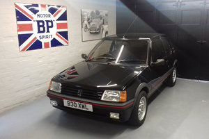 1985 Peugeot 205 GTi - 32k miles from new + FSH For Sale