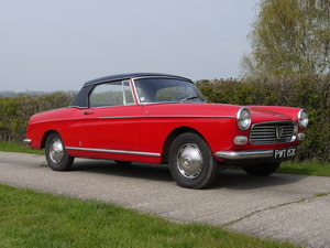 1965 Peugeot 404 Cabriolet Injection For Sale