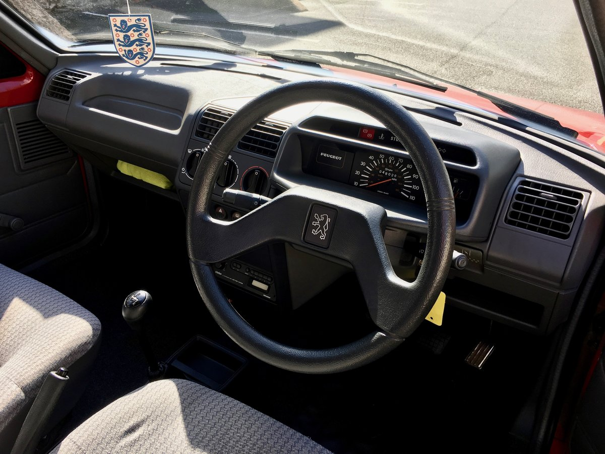1990 Peugeot 205 XE - Time warp, every day classic! For Sale (picture 6 of 6)