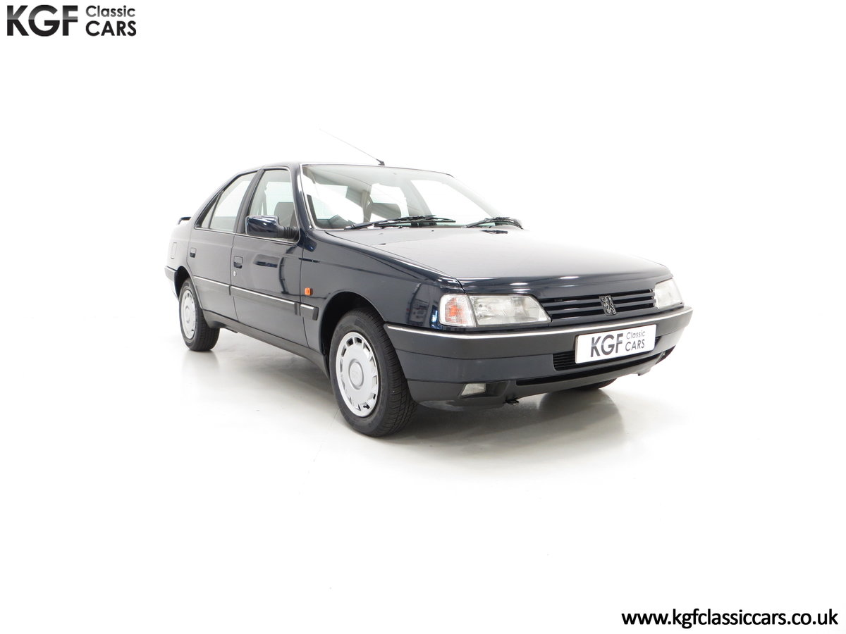 1995 A Breath-Taking Peugeot 405 GLX 1.6 Petrol with 48898 miles  SOLD (picture 1 of 6)