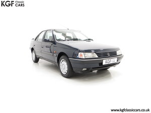 1995 A Breath-Taking Peugeot 405 GLX 1.6 Petrol with 48898 miles  SOLD