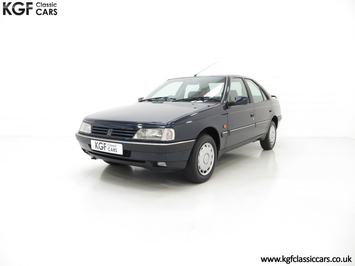 1995 A Breath-Taking Peugeot 405 GLX 1.6 Petrol with 48898 miles  SOLD (picture 2 of 6)