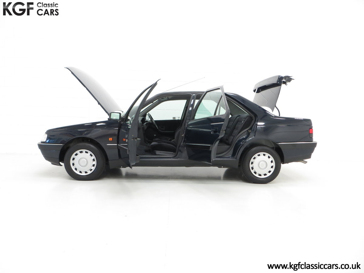 1995 A Breath-Taking Peugeot 405 GLX 1.6 Petrol with 48898 miles  SOLD (picture 3 of 6)