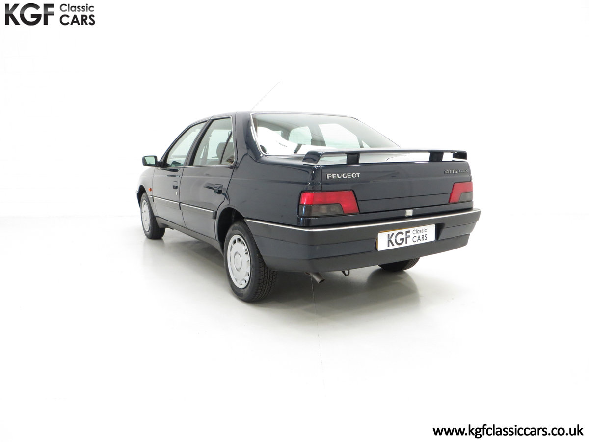 1995 A Breath-Taking Peugeot 405 GLX 1.6 Petrol with 48898 miles  SOLD (picture 4 of 6)