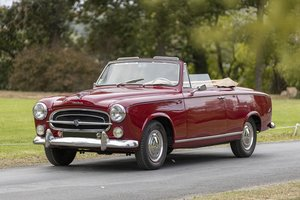 1957 - PEUGEOT 403 CABRIOLET For Sale by Auction