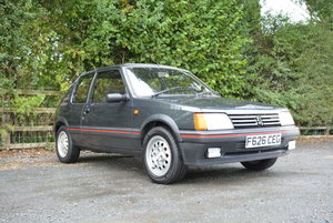 1989 Peugeot 205 GTi For Sale by Auction