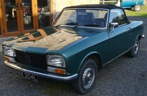 1973 Peugeot 304 S Cabriolet For Sale by Auction