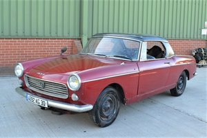 1963 Peugeot 404 Cabriolet For Sale by Auction