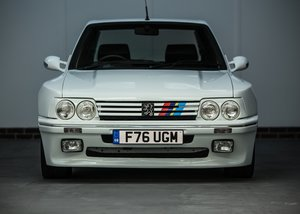 1989 Peugeot 205 GTi Dimma (1.9 litre) SOLD by Auction