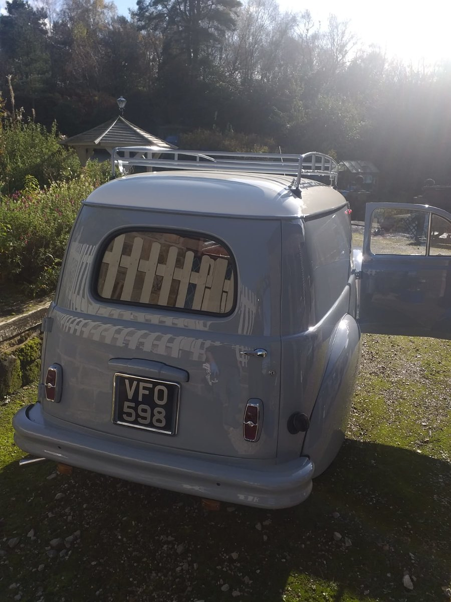 1955 Peugeot 203 Van Just Restored! For Sale (picture 3 of 6)