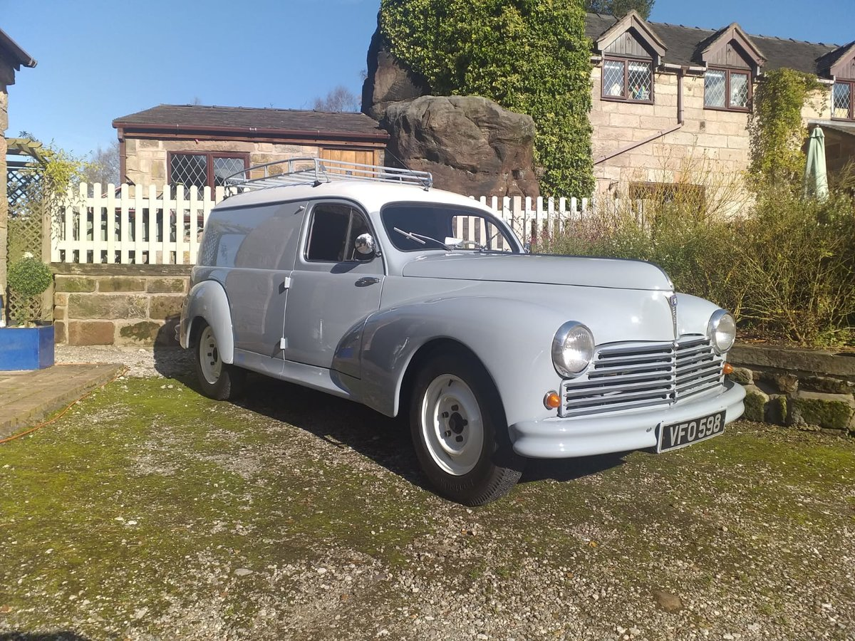 1955 Peugeot 203 Van Just Restored! For Sale (picture 6 of 6)