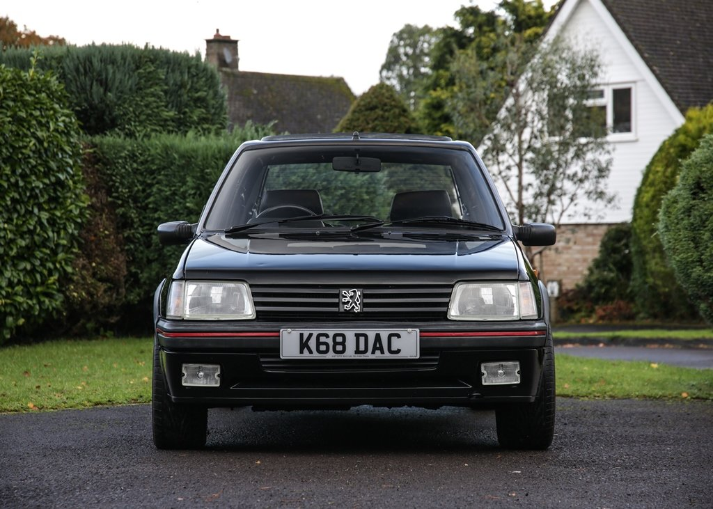 1993 Peugeot 205 GTi FM Edition (1.9 litre) SOLD by Auction (picture 1 of 6)