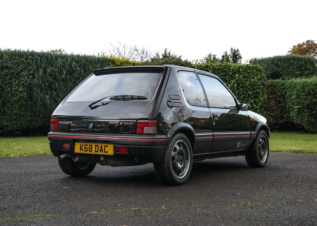 1993 Peugeot 205 GTi FM Edition (1.9 litre) SOLD by Auction (picture 4 of 6)