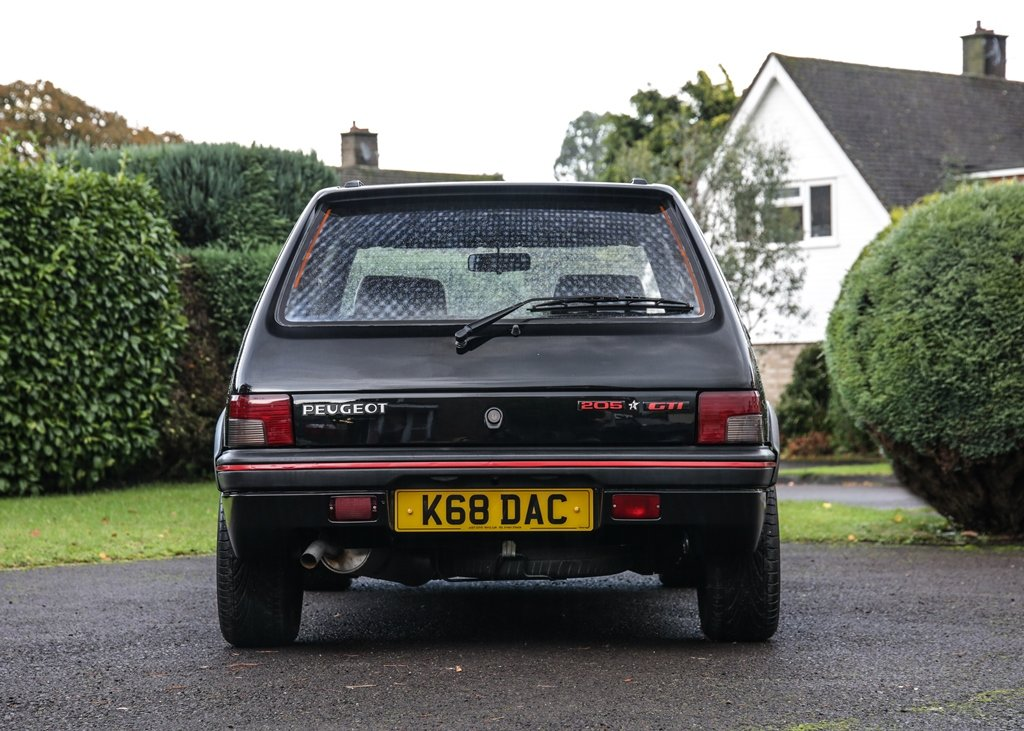 1993 Peugeot 205 GTi FM Edition (1.9 litre) SOLD by Auction (picture 6 of 6)