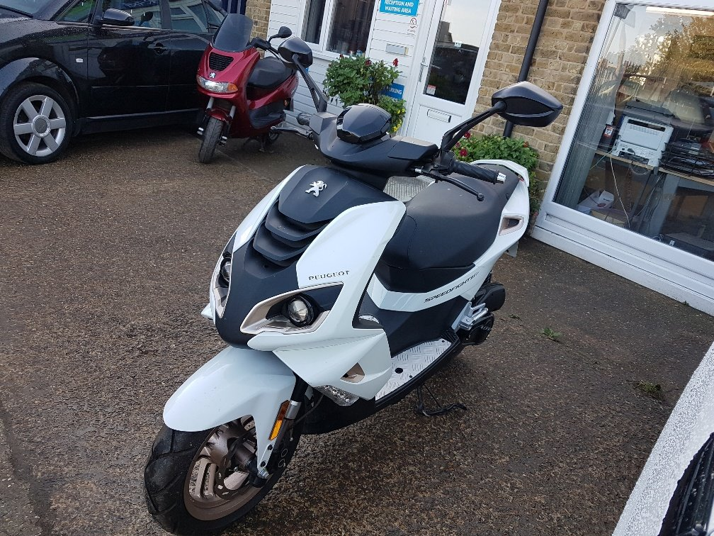 2017 Peugeot speedfight 4 pure For Sale (picture 1 of 6)