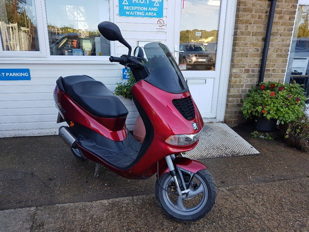 2001 Peugeot elyseo 50 For Sale (picture 1 of 6)