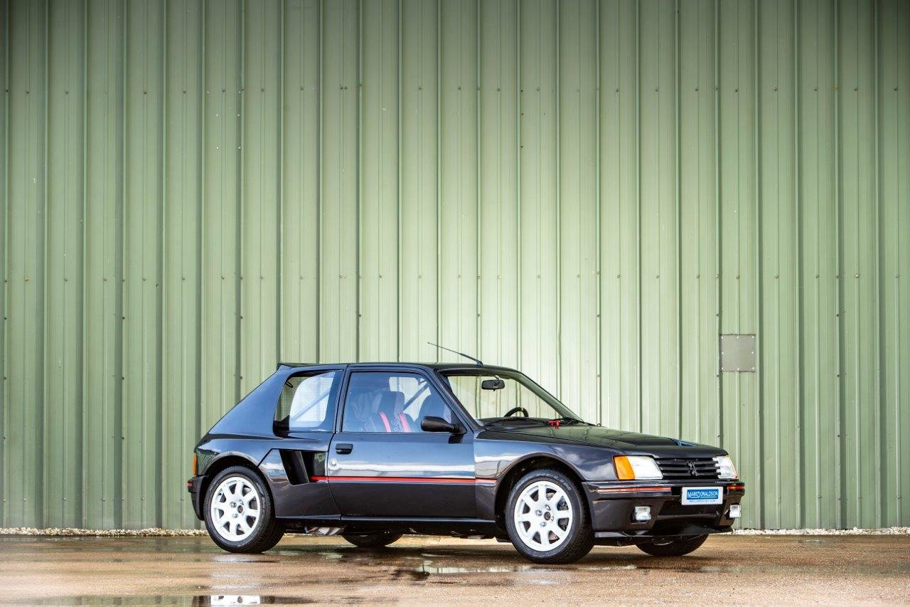 1983 Peugeot 205 T16 Group B Street Version For Sale (picture 1 of 6)