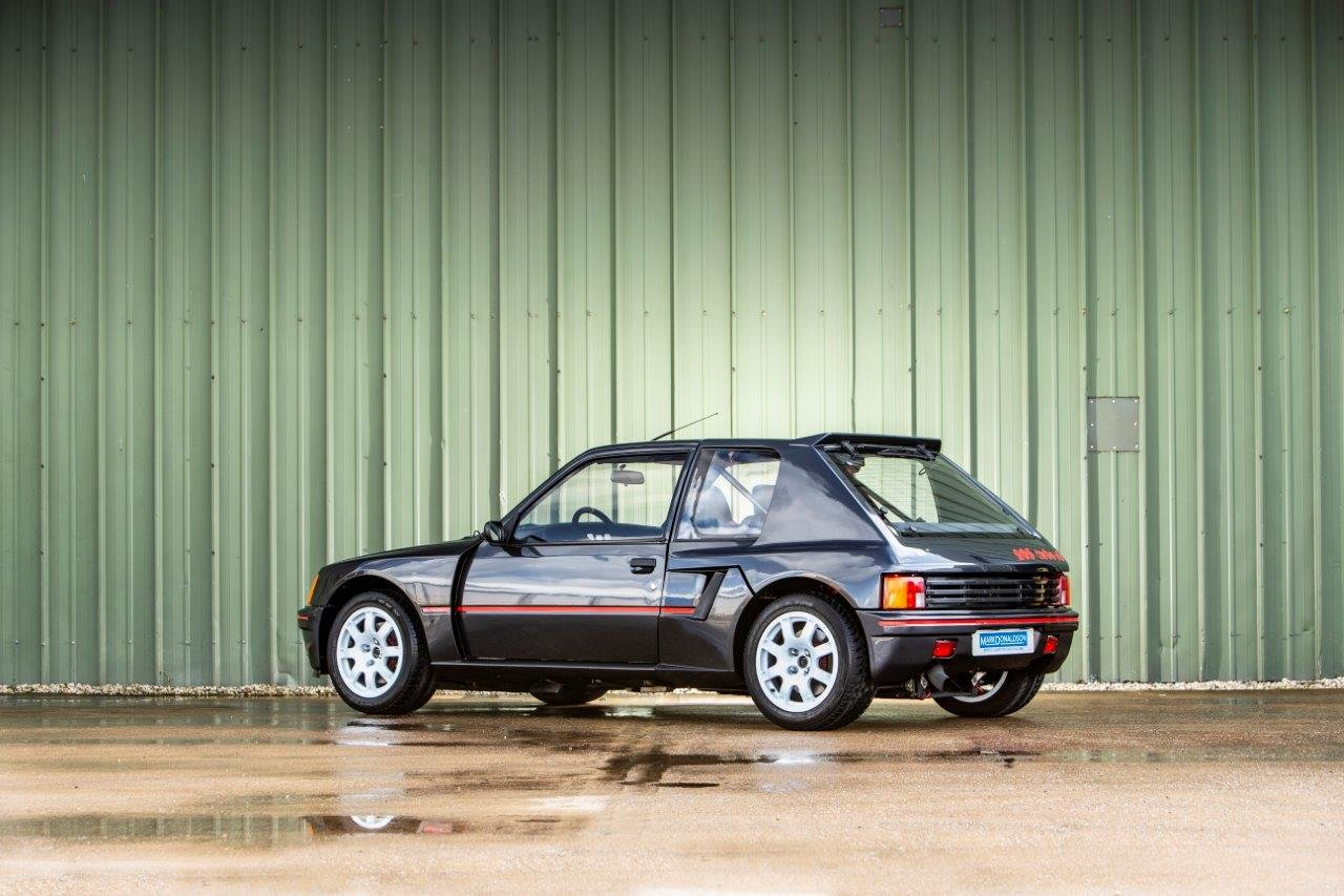 1983 Peugeot 205 T16 Group B Street Version For Sale (picture 2 of 6)