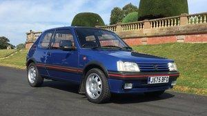 1991  Peugeot 205 1.9 GTI Low miles