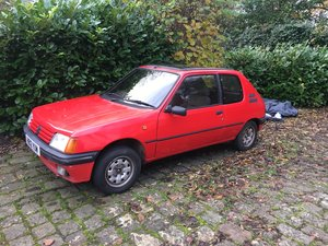 1991 Peugeot 205xs lightly modified For Sale