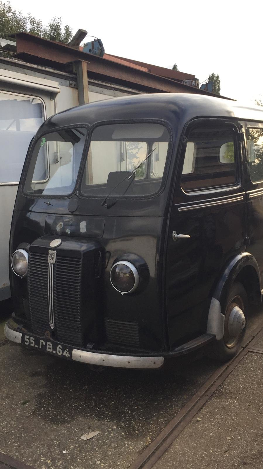 1953 Peugeot D3A Bus omnibus Window Bully Van For Sale (picture 1 of 6)