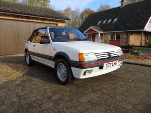 1.6L 1990 Peugeot 205 CTi Cabriolet offered at No Reserve