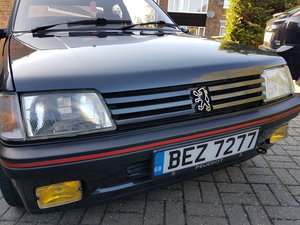 1989 Peugeot 205 GTI 1.9 Graphite Grey - Modern Classic For Sale