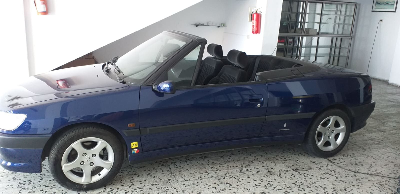 1998 PEUGEOT 306 CABRIOLET LHD For Sale (picture 1 of 2)