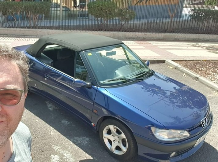 1998 PEUGEOT 306 CABRIOLET LHD For Sale (picture 2 of 2)