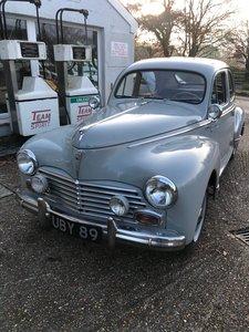1958 Peugeot 203 saloon