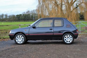 1991 Peugeot 205 GTI 3dr,65,534 miles from new