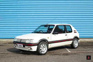 1993 Last owner 22 years, a beautiful and low mileage 205 GTI 1.9