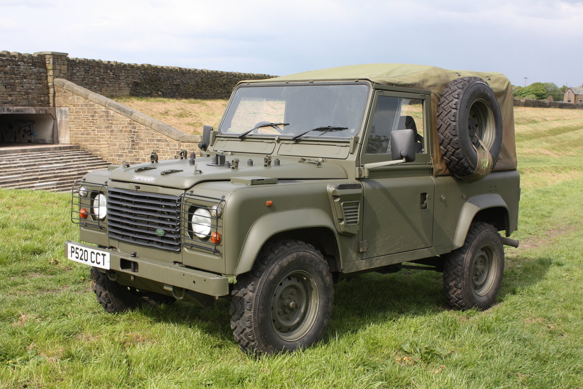 1997 Land Rover Defender 90 WOLF Soft Top  For Sale (picture 1 of 10)